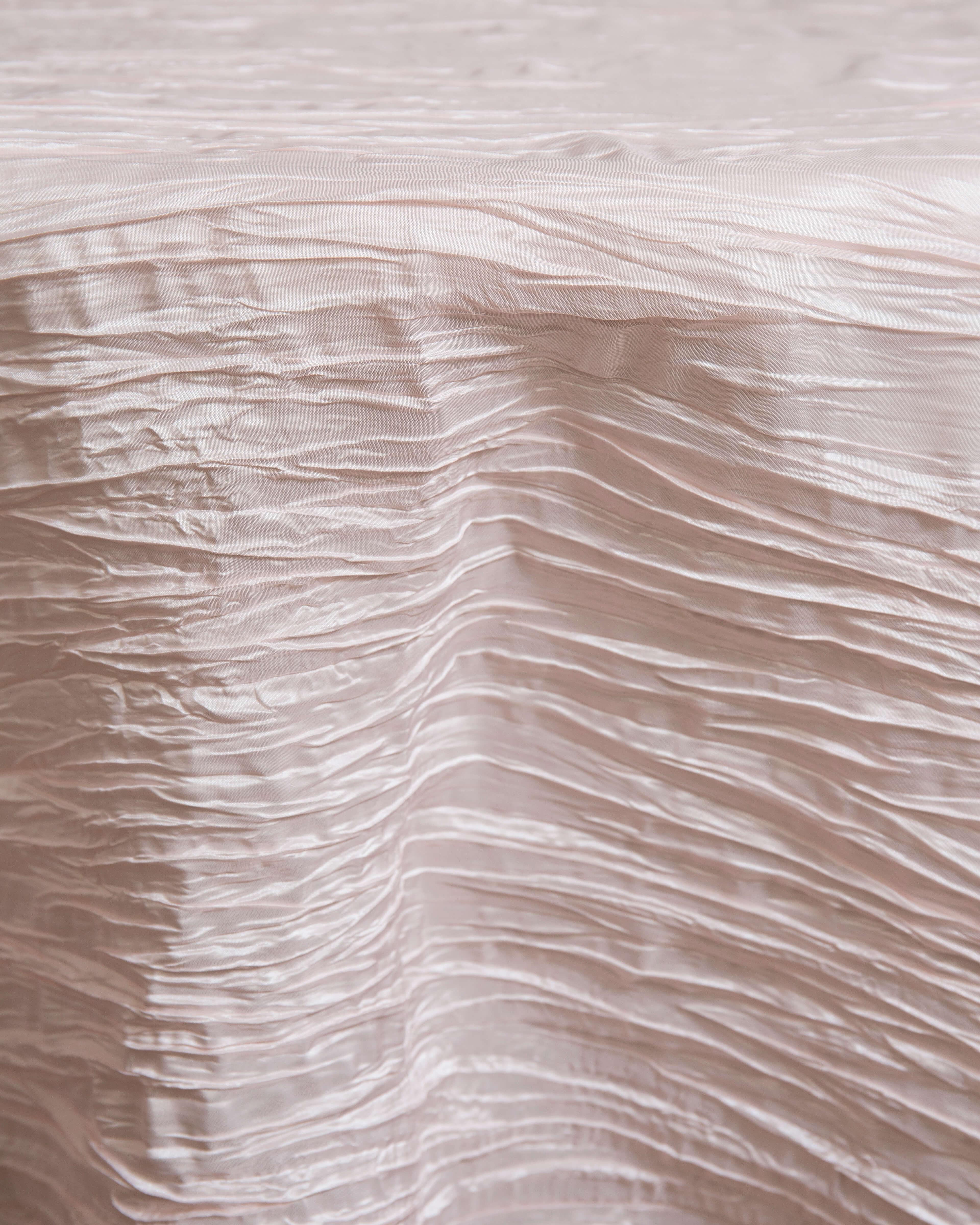 blush linen rental